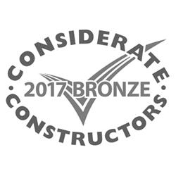 2017 bronze considerate contractors
